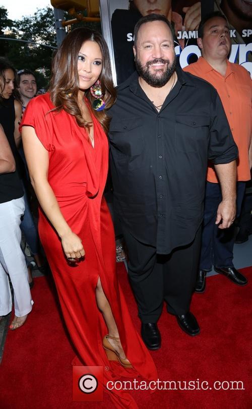Steffiana De La Cruz and Kevin James 3