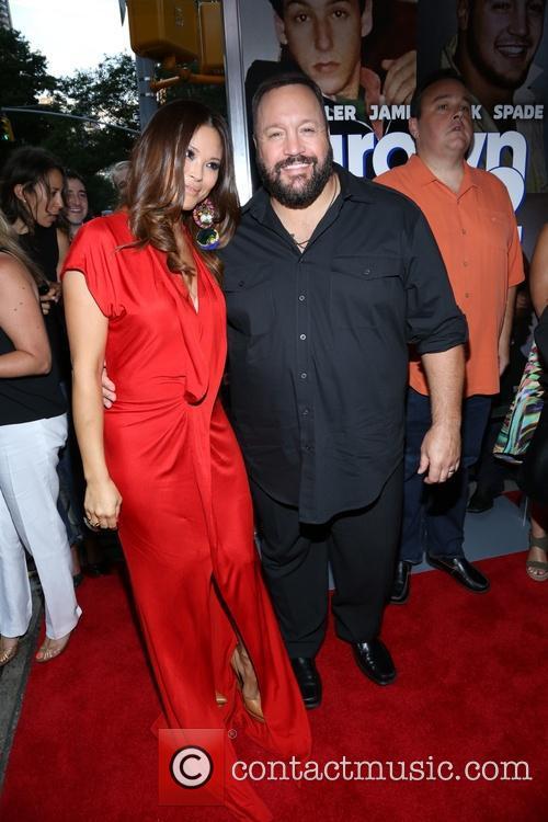 Steffiana De La Cruz and Kevin James 4