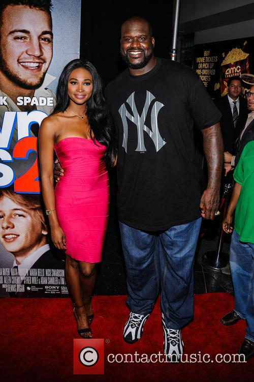 Shaquille O'neal and Nana Meriwether 10