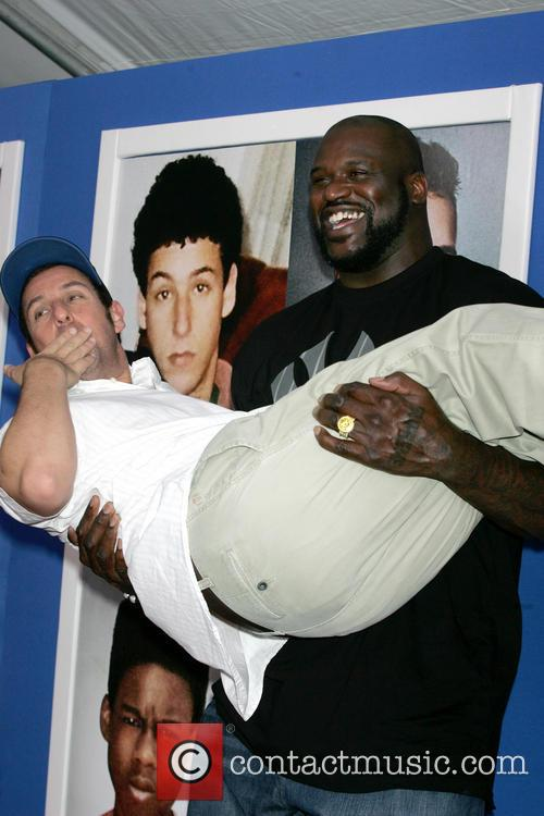 Shaquille O'neal and Adam Sandler 4