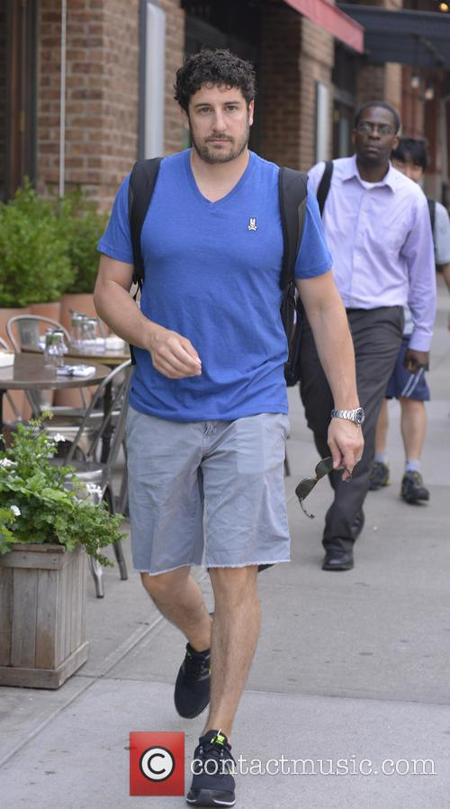 Jason Biggs out in New York