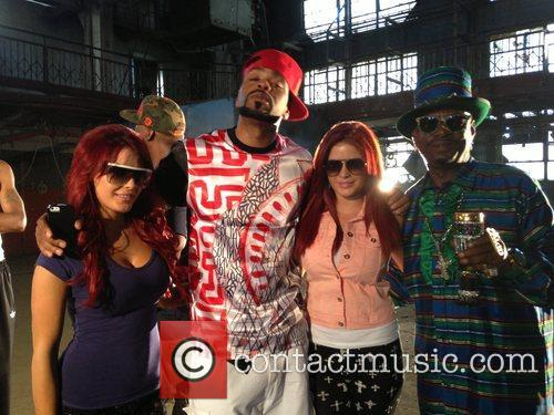 Carla Howe, Melissa Howe, Bishop Don Magic Juan and Method Man