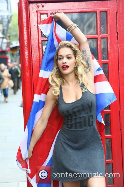 Rita Ora behind the scenes for Material Girl Fall 2013