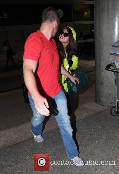Selena Gomez and Brian Teefey 2