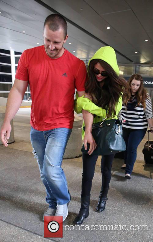Selena Gomez and Brian Teefey 5