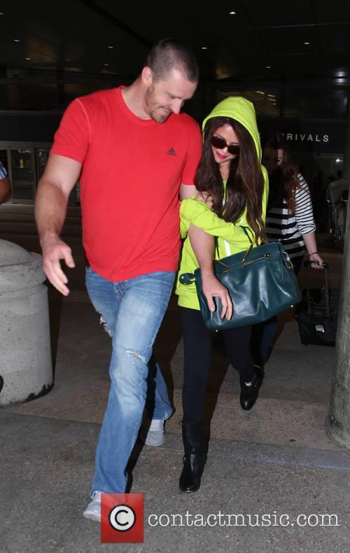 Selena Gomez and Brian Teefey 8