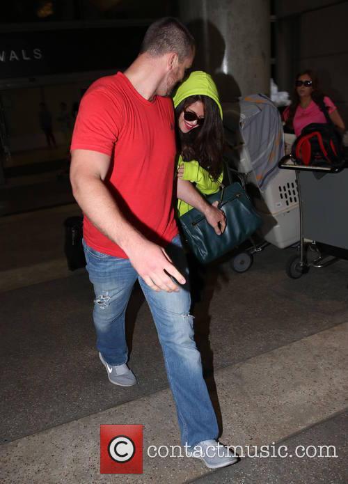 Selena Gomez and Brian Teefey 9