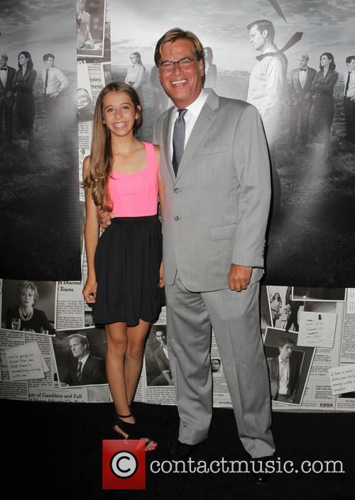 Aaron Sorkin and Roxy Sorkin 1