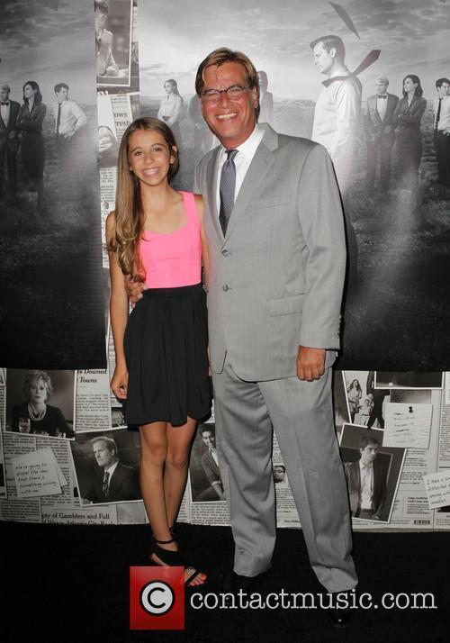 Aaron Sorkin and Roxy Sorkin 5
