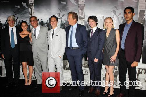 Sam Waterston, Olivia Munn, Aaron Sorkin, Thomas Sadoski, Jeff Daniels, John Gallagher Jr., Alison Pill, Dev Patel, The Paramount Theater  Paramount Studio