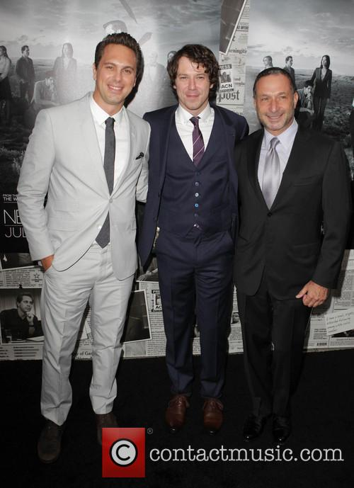 Thomas Sadoski, John Gallagher Jr. and Alan Poul