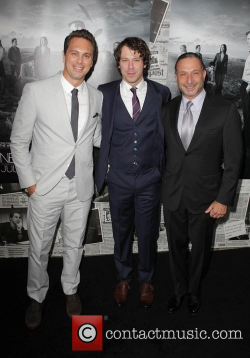Thomas Sadoski, John Gallagher Jr. and Alan Poul 5