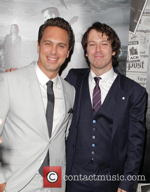 Thomas Sadoski, John Gallagher Jr., The Paramount Theater  Paramount Studio