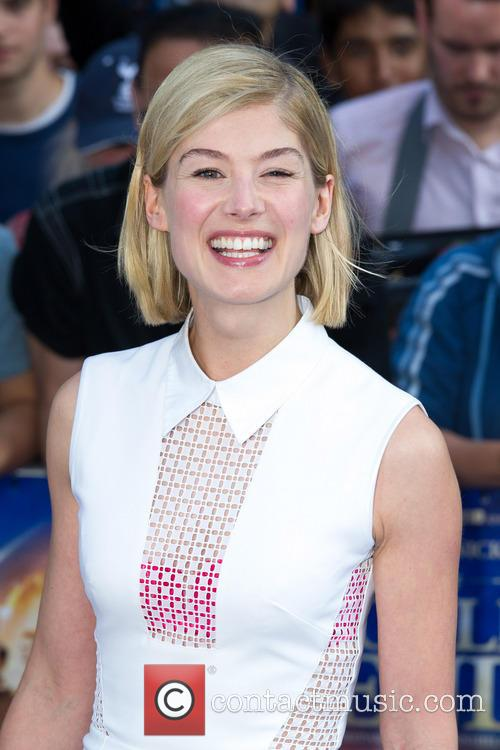Rosamund Pike, The World's End Premiere