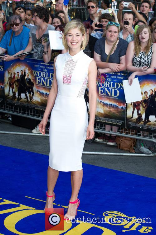 Rosamund Pike, Empire Cinema Leicester Square, Odeon Leicester Square