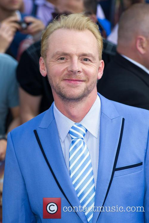 Simon Pegg, Empire Cinema Leicester Square, Odeon Leicester Square