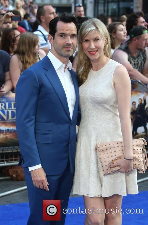 Jimmy Carr and Karoline Copping 6