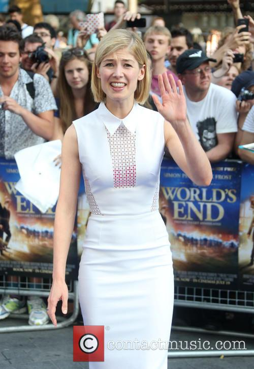 Rosamund Pike, Odeon Leicester Square