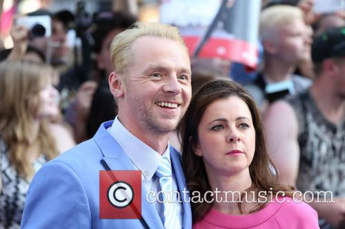 simon pegg maureen pegg world premiere of the 3754809
