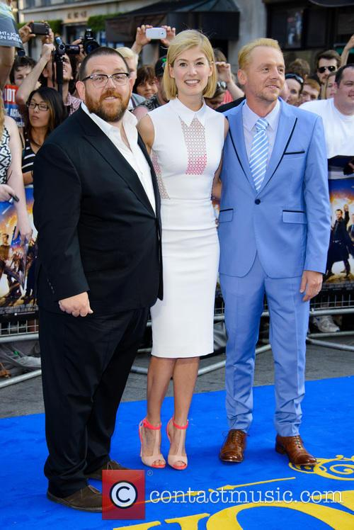 Nick Frost, Rosamund Pike and Simon Pegg 6