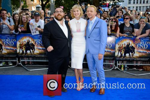 Nick Frost, Rosamund Pike and Simon Pegg 8