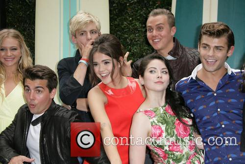 John Deluca, Mollee Gray, Ross Lynch, Maia Mitchell, William T. Loftis, Grace Phipps and Garrett Clayton