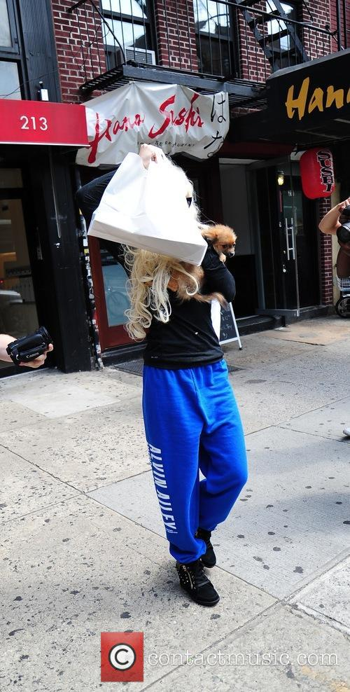 Troubled actress Amanda Bynes is seen leaving a...