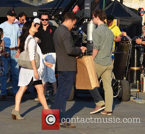Jonny Lee Miller and Lucy Liu 2