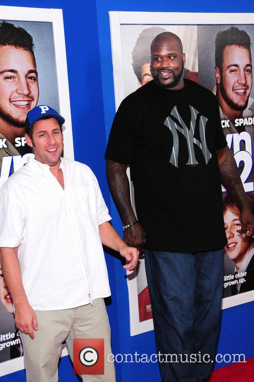 Shaquille O'neal and Adam Sandler 2