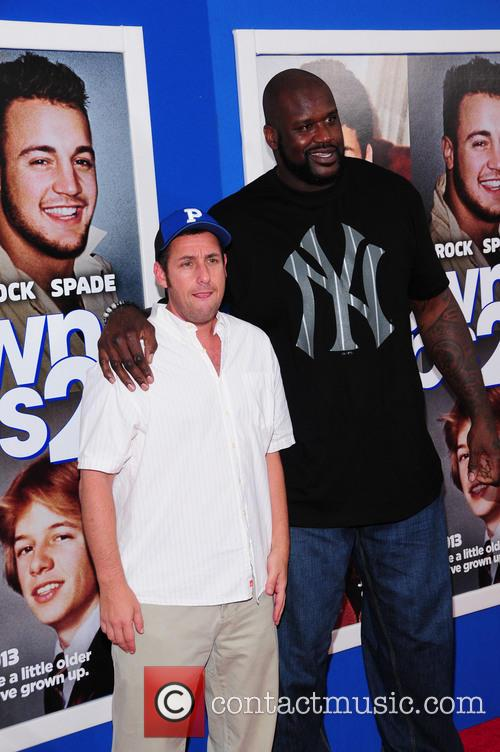 Shaquille O'neal and Adam Sandler 3
