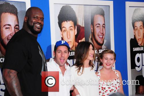 Shaquille O'neal and Adam Sandler 1