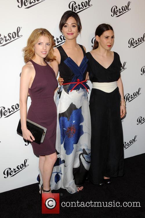 Anna Kendrick, Emmy Rossum and Zosia Mamet 3