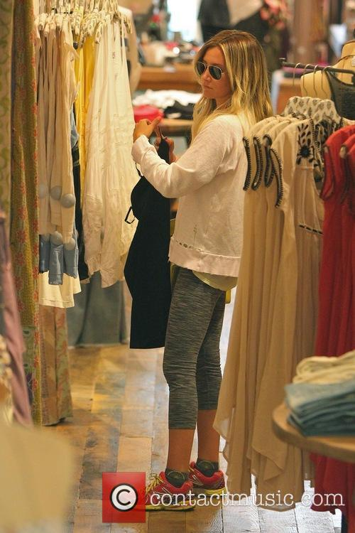 Ashley Tisdale seen shopping