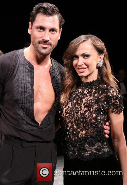 Karina Smirnoff and Maksim Chmerkovskiy 9
