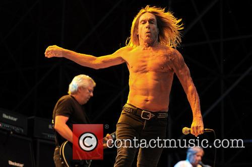 Iggy Pop and the Stooges perform live at Ippodromo delle Capannelle