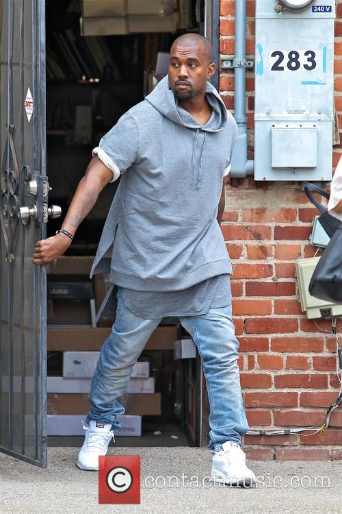 Kanye West seen shopping for furniture