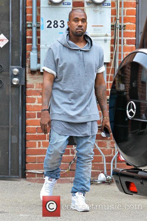 Kanye West pap