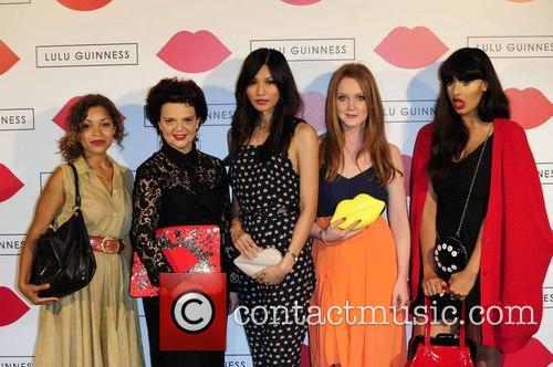 Antonia Rose Thomas, Lulu Guinness, Gemma Chan and Jameela Jamil 2