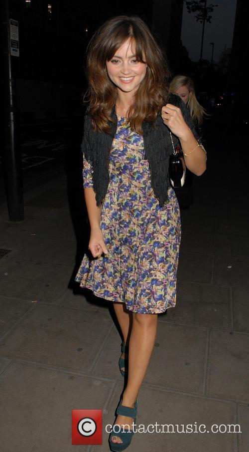 jenna louise coleman lulu guinness paint project party 3757547
