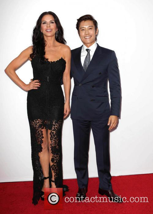 Catherine Zeta-jones and Byung-hun Lee 11
