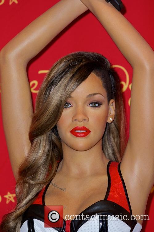Rihanna's waxworks figure unveiled