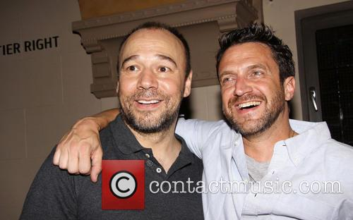 Raul Esparza and Danny Burstein 4