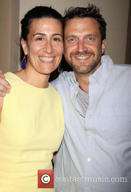 Jeanine Tesori and Raul Esparza 5