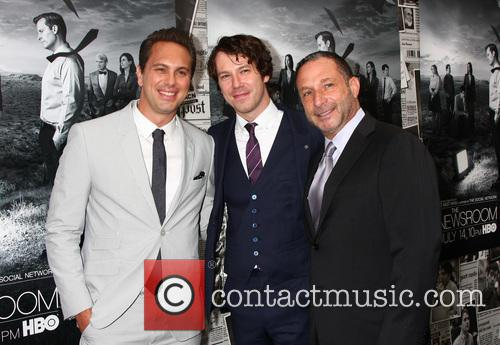 Thomas Sadoski. Johnny Gallagher Jr. and Alan Poul