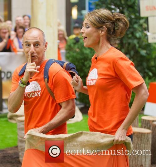 Matt Lauer and Savannah Guthrie 6