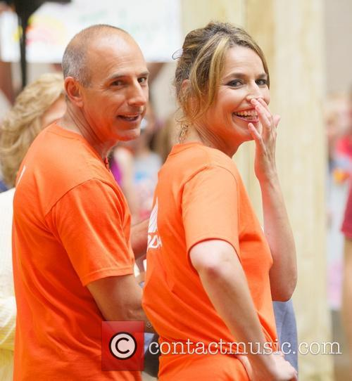 Matt Lauer and Savannah Guthrie 8