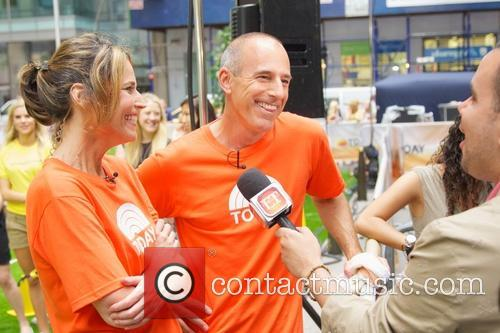 Matt Lauer and Savannah Guthrie 11
