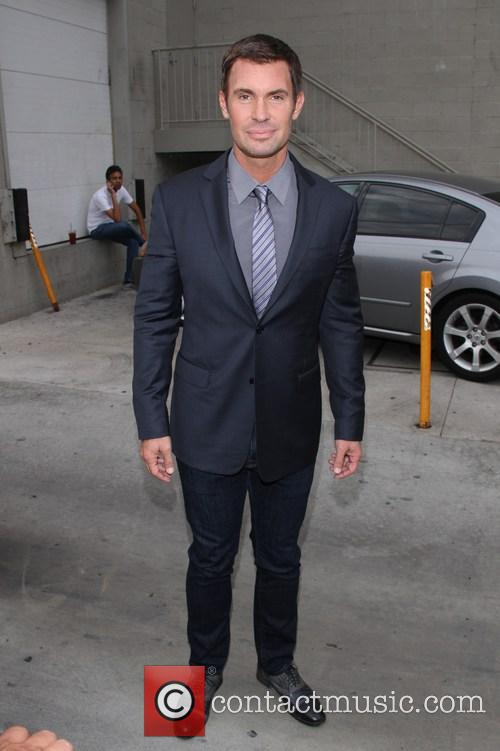 Jeff Lewis outside the 'Jimmy Kimmel Live' studios