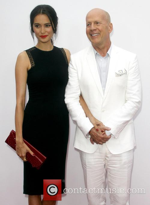 Bruce Willis and Emma Huming 2