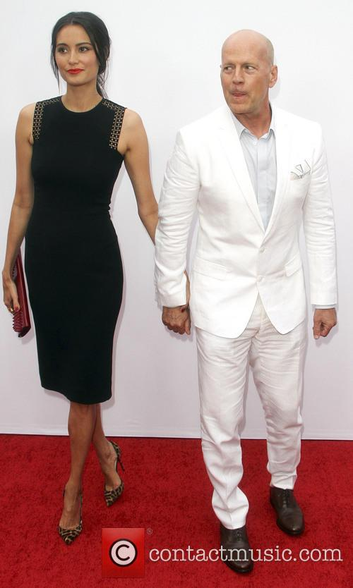 bruce willis emma huming los angeles premiere of 3759357
